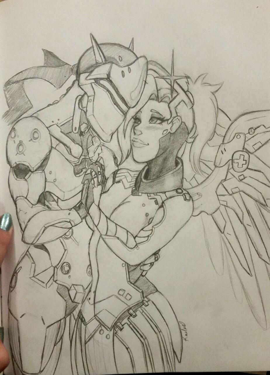 Genji And Mercy Ship