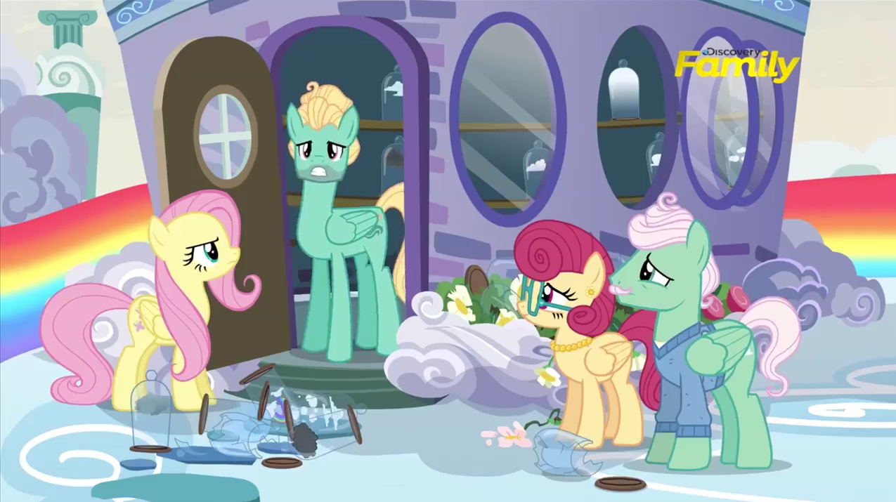Fluttershys Family My Little Pony Friendship Is Magic Know
