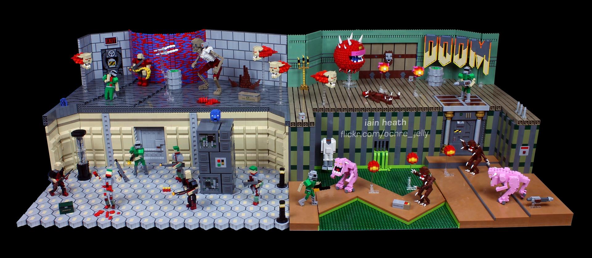 Lego Doom | Doom | Know Your Meme