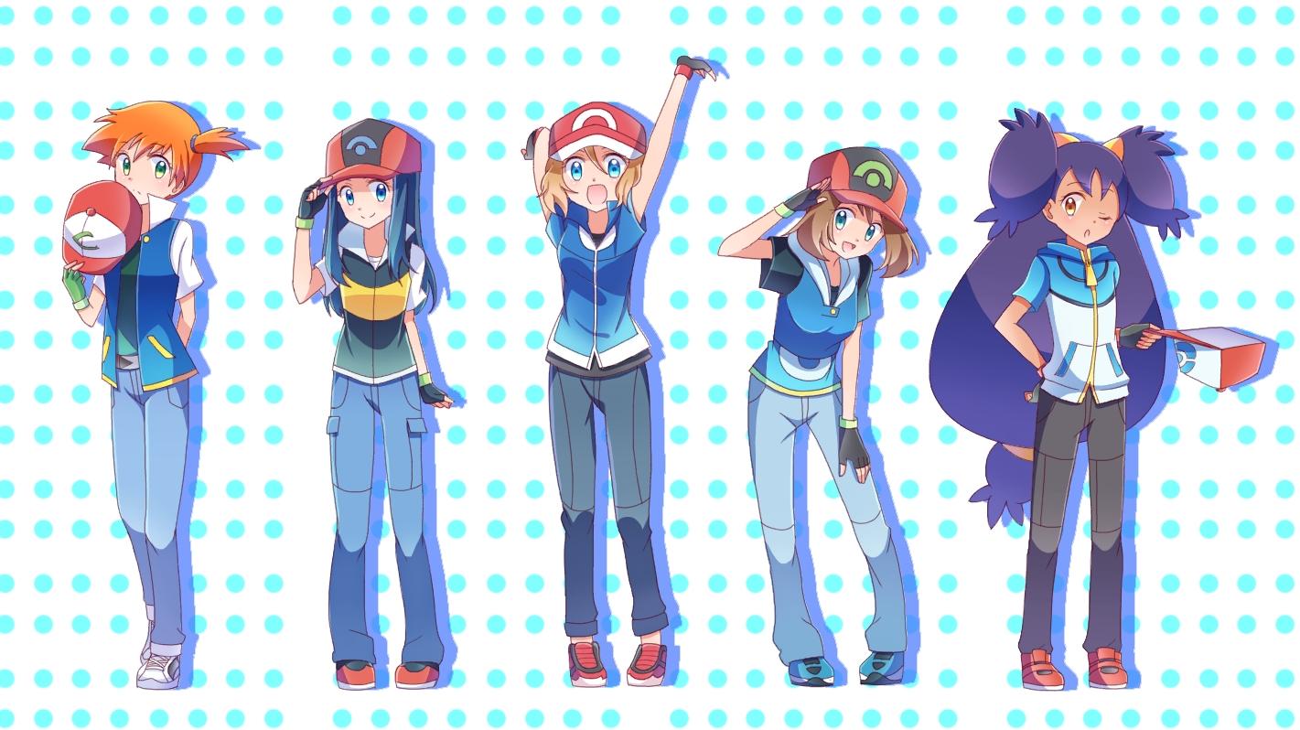 Ash S Companions Dressed As Him Pokemon Know Your Meme