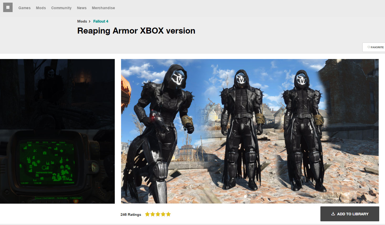 Fallout 4 Mod Reaping Armor Overwatch Know Your Meme