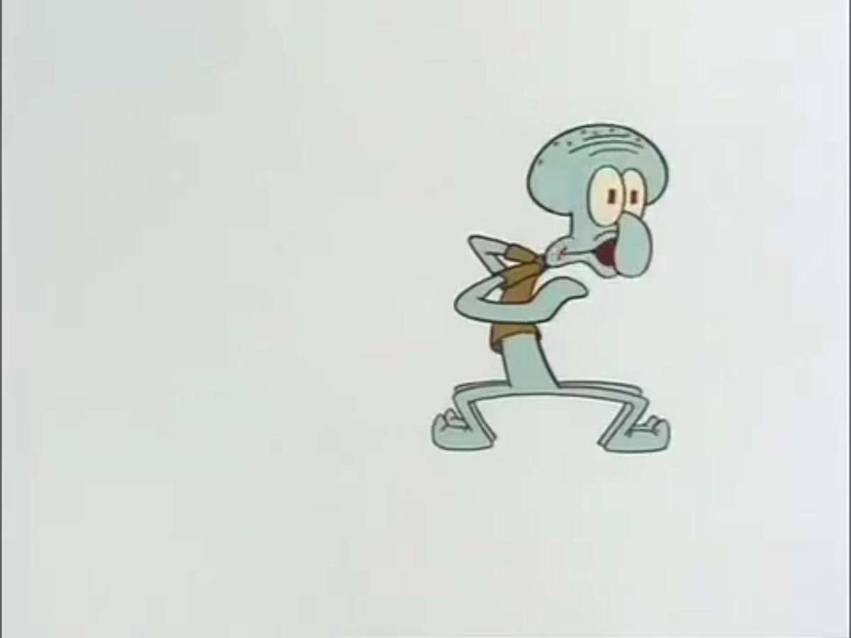 Scared Squidward   Scared Squidward   Know Your Meme