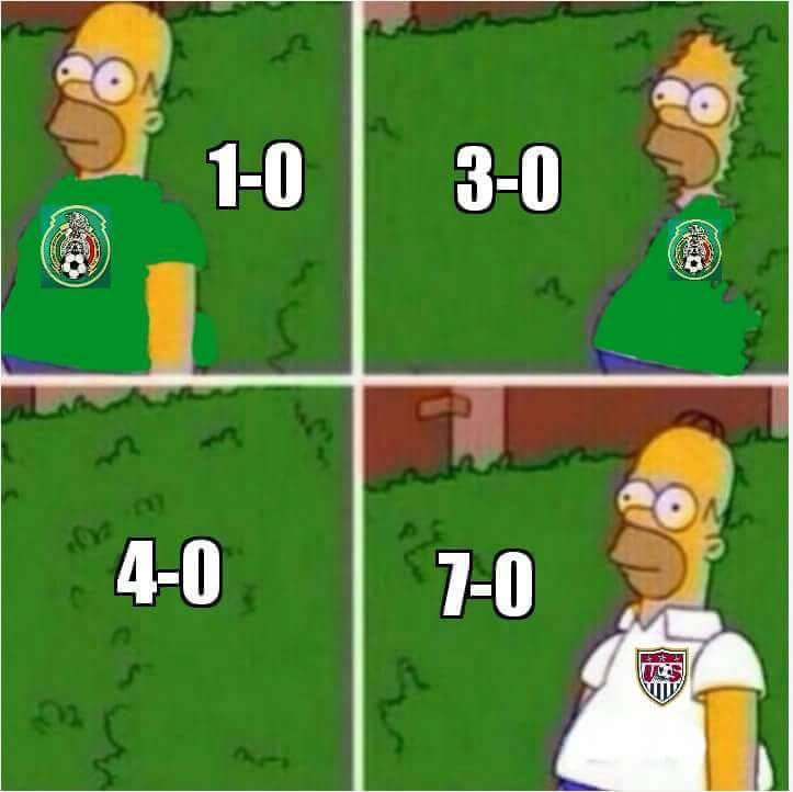 when mexico received 7 goals in a match homer backs into things