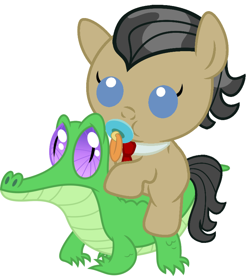 Filthy Rich riding Gummy   My Little Pony: Friendship is Magic   Know Your  Meme