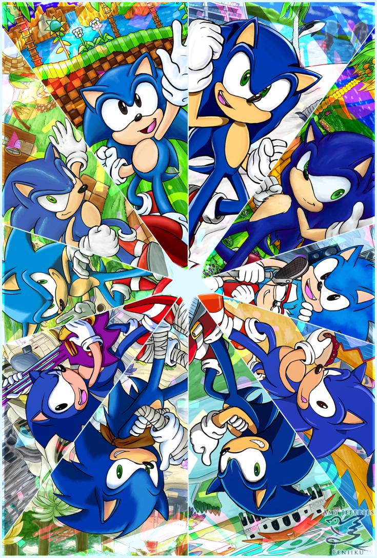 Kaleidoscope Sonic The Hedgehog Know Your Meme