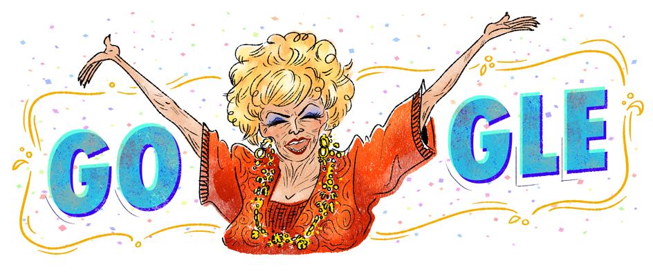 dercy gonçalves 109th birthday google doodles know your meme