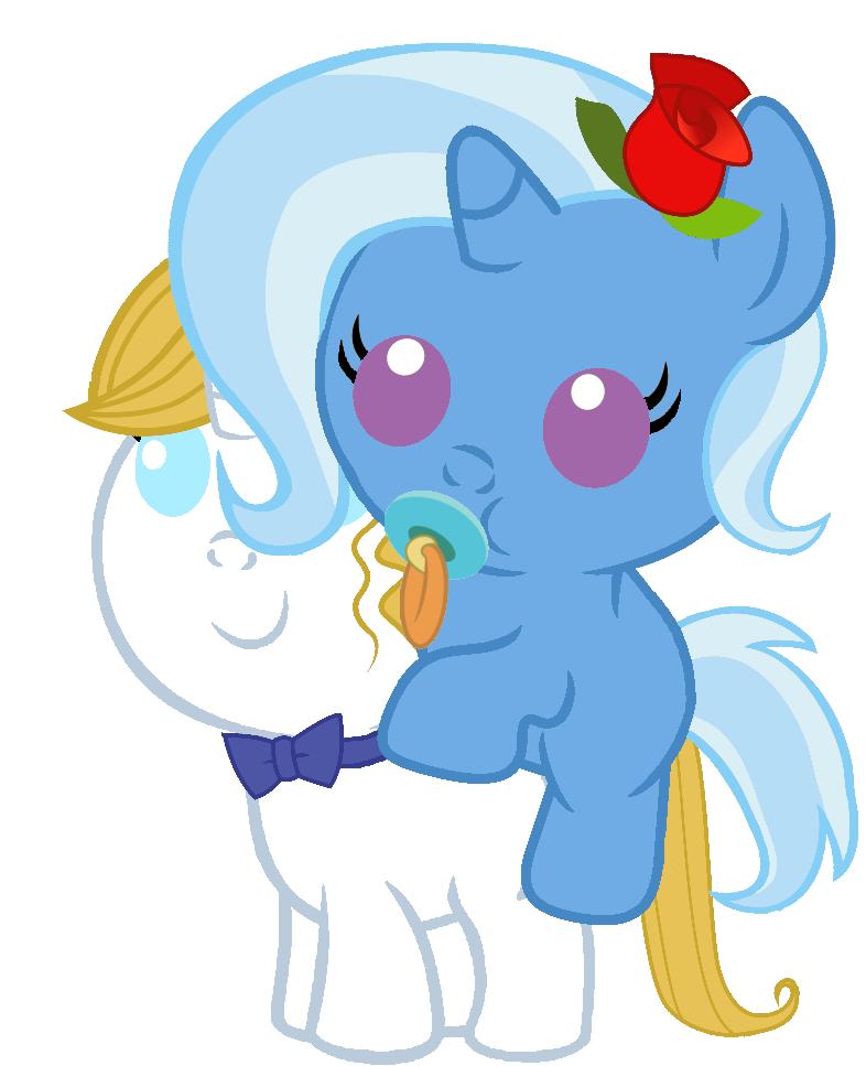 Trixie Riding Blueblood My Little Pony: Friendship Is Magic Know Your  Meme