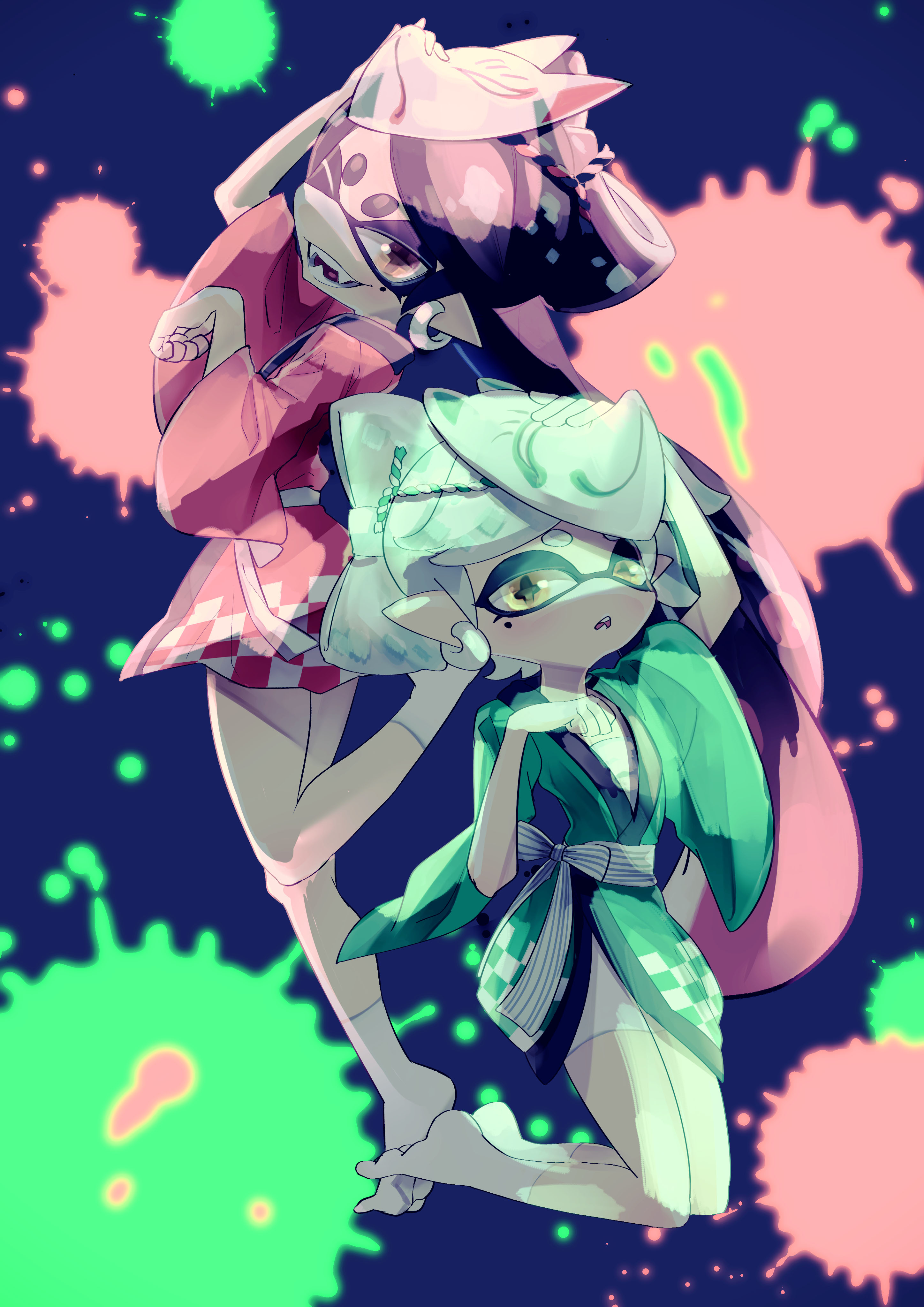 Marie Squid Sisters Download Free 3d Model By Dedalocious