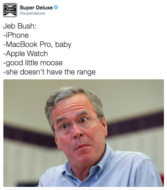 Jeb Bush Moose