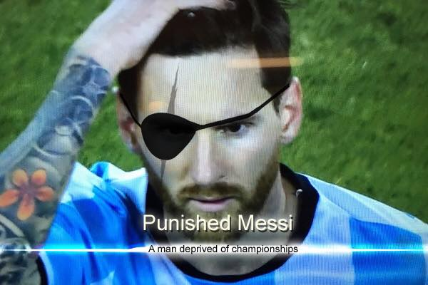 Punished Messi Crying Messi Know Your Meme