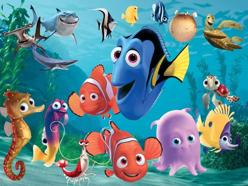 Ecosystem Cartoon Fauna Marine Biology Art Organism Fish