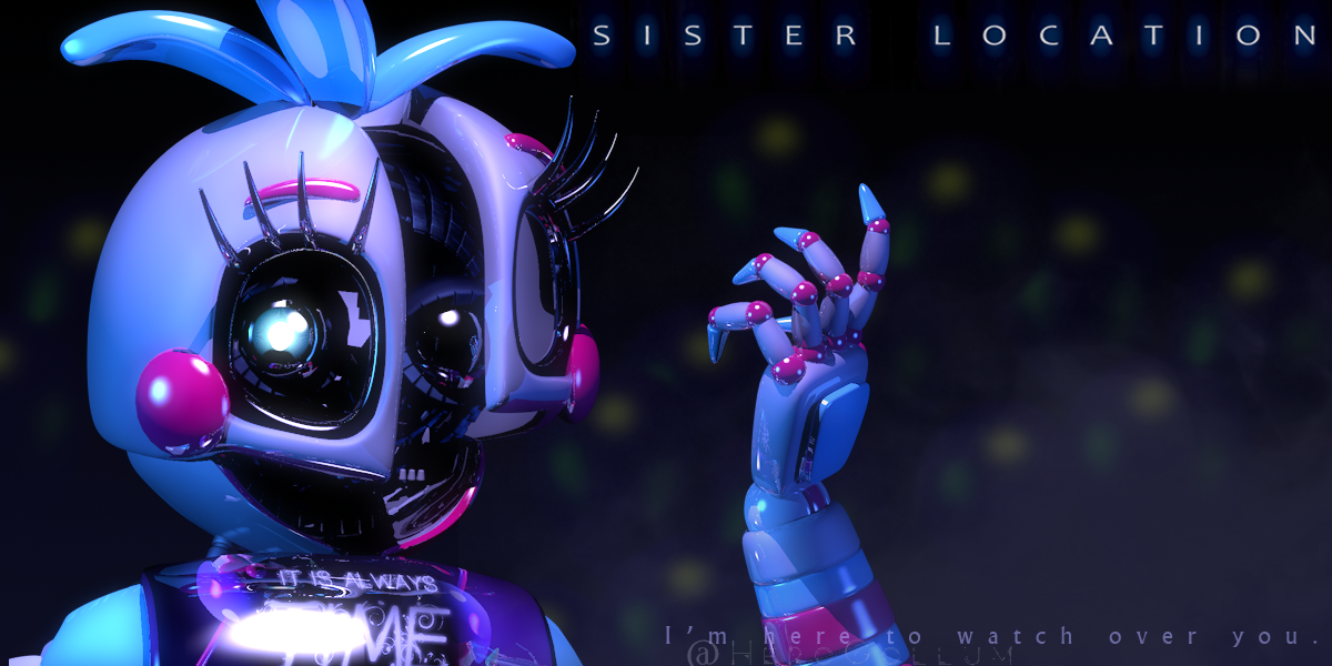 Funtime Chica Teaser Render (Fan-made)   Five Nights at
