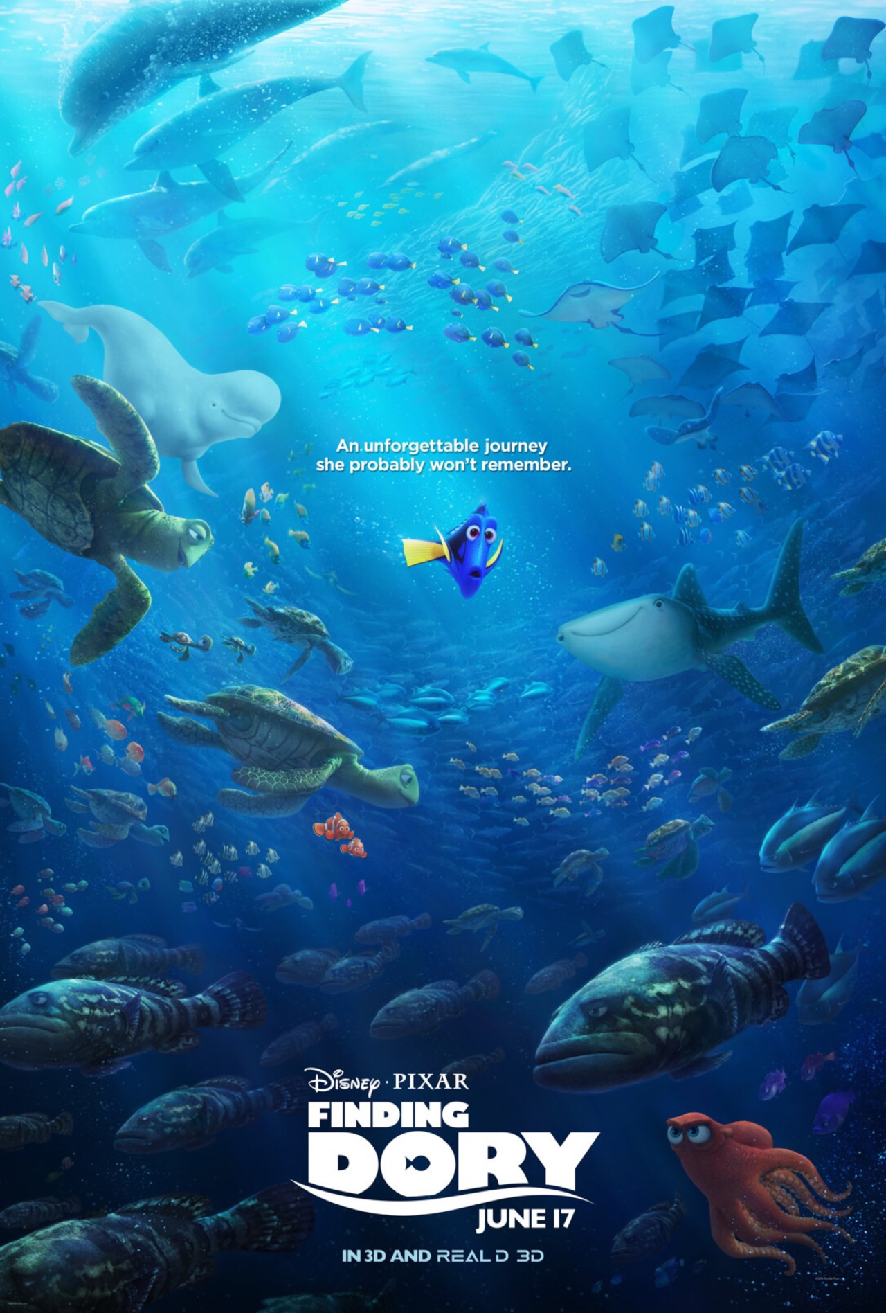 Finding dory poster finding nemo know your meme anunforgettable journey she probably wont remember die pixar finding june 17 altavistaventures Gallery