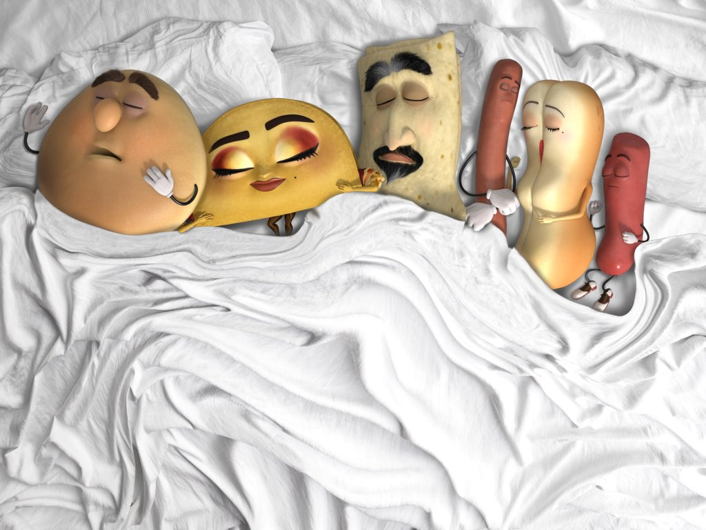 sausage party s take on famous kanye west famous know your meme