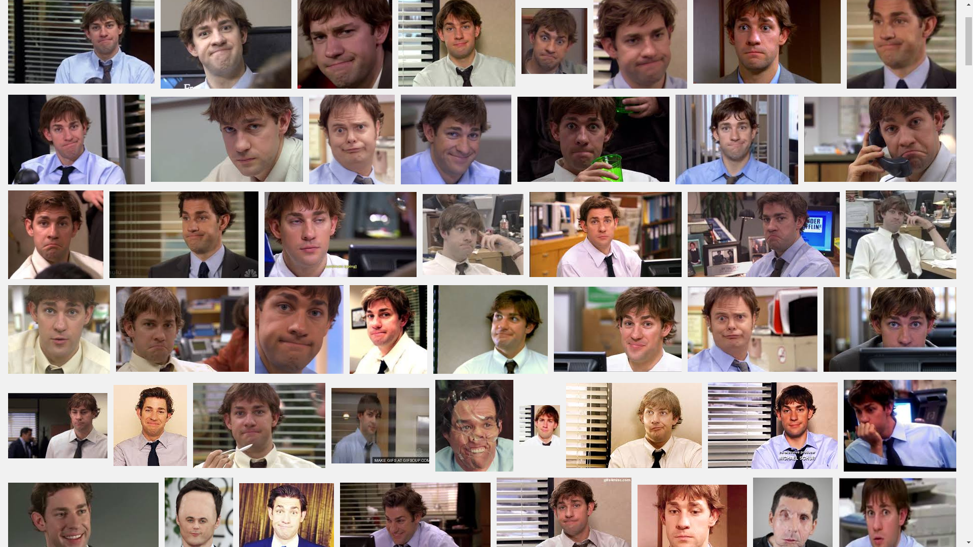 The Many Reactions of Jim Halpert | The Office | Know Your Meme