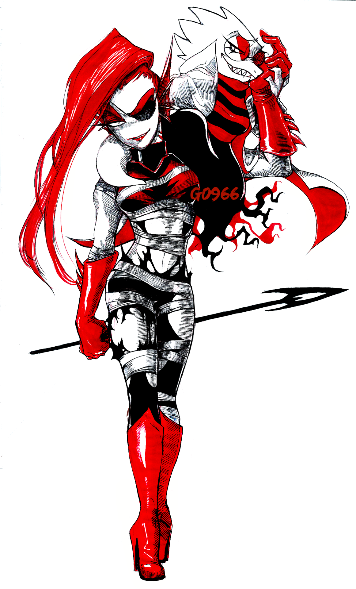 Underfell Undyne and Alphys by g0966 | Undertale | Know Your