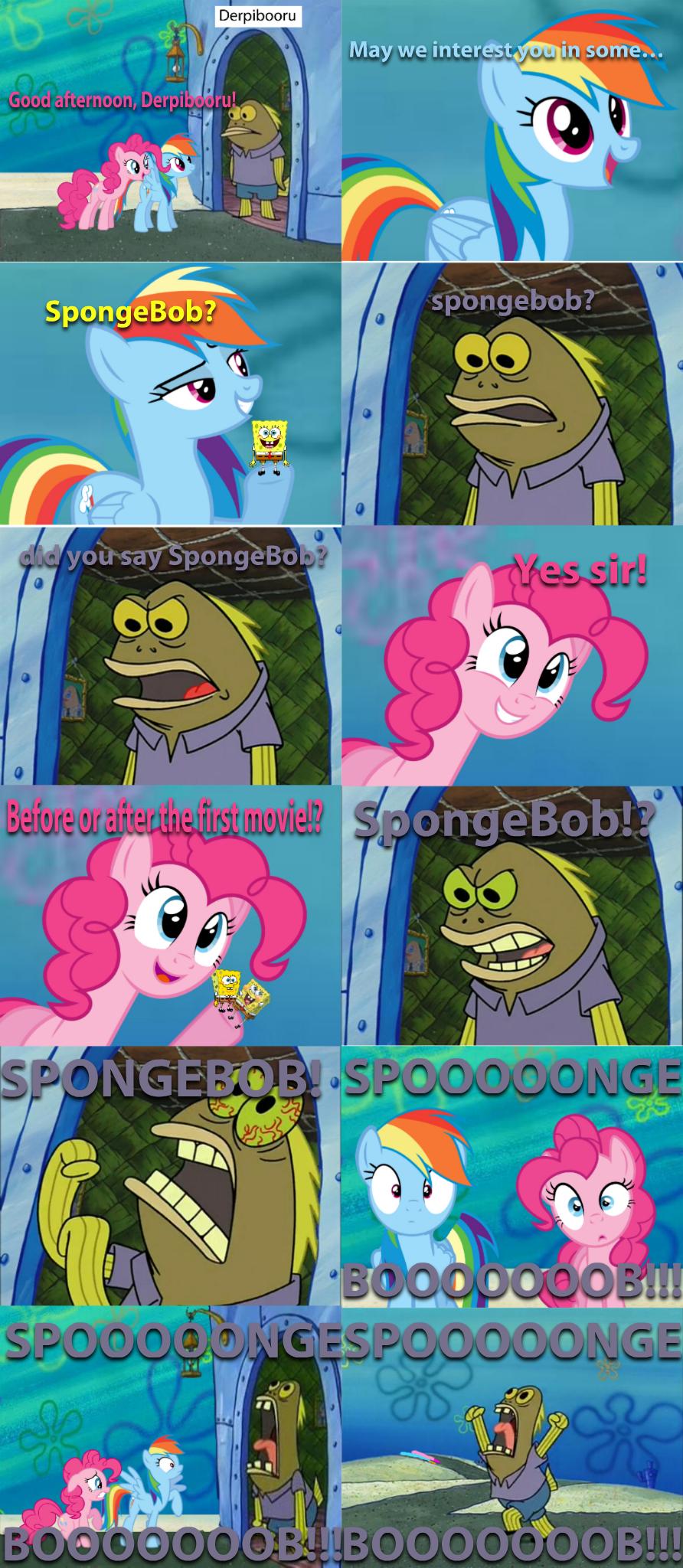 Derpibooru may we interéstvouin some good afternoon der · spongebob spongebob
