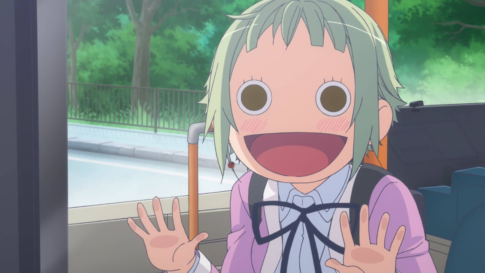 Another Amanchu Face Anime Manga Know Your Meme
