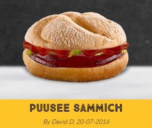 puusee sammich mcdonald s create your taste know your meme