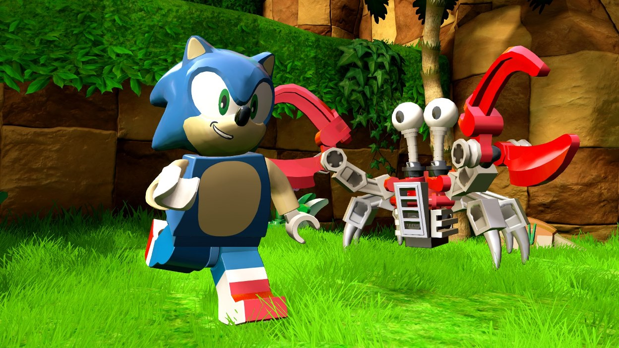 Lego Crabmeat Close Up Sonic The Hedgehog Know Your Meme