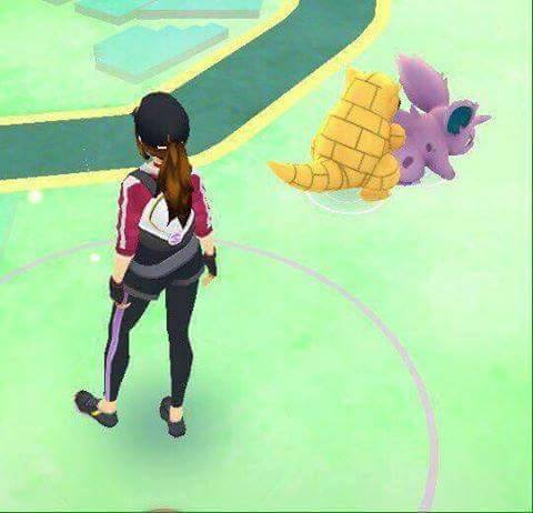 I found this online | Pokémon GO In-Game Screenshots | Know