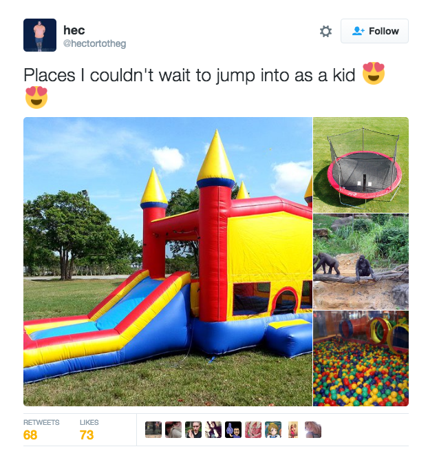 places to jump in as a kid harambe the gorilla know your meme