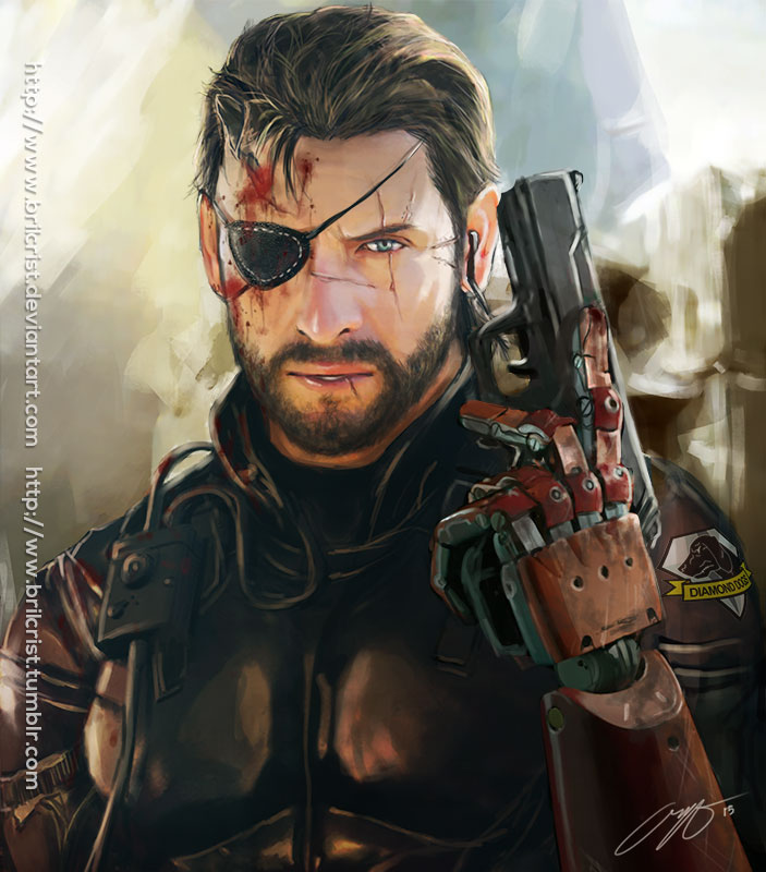 Venom Snake Metal Gear Solid V Know Your Meme
