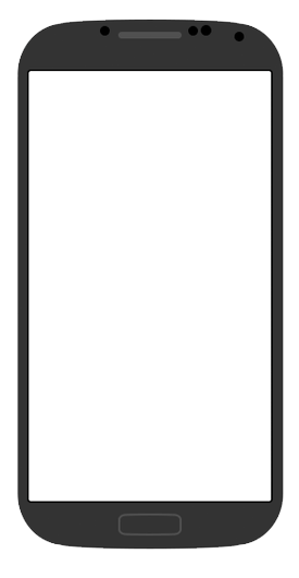 black galaxy s4 blank template android know your meme