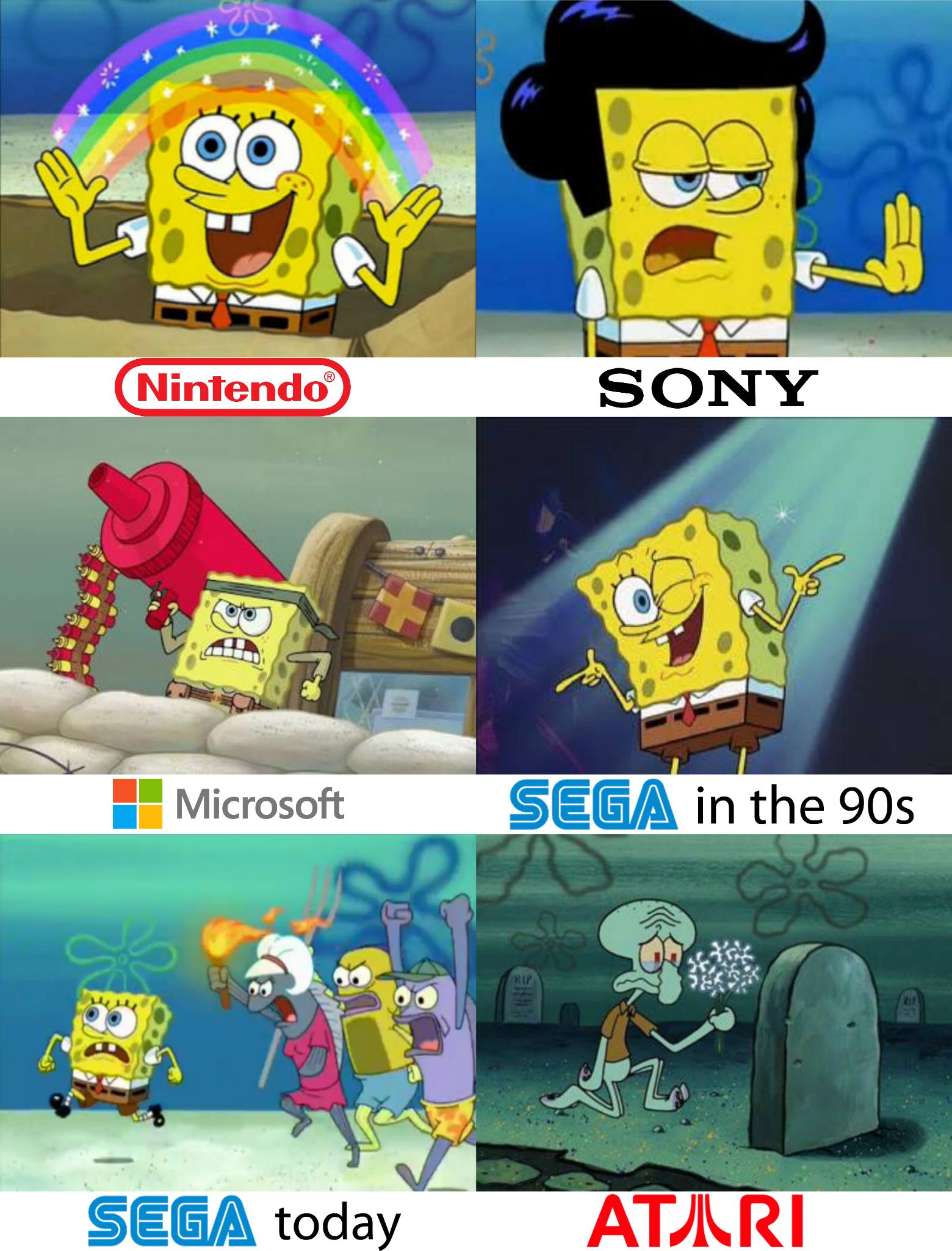 Download gambar 52 spongebob meme video clip terunik