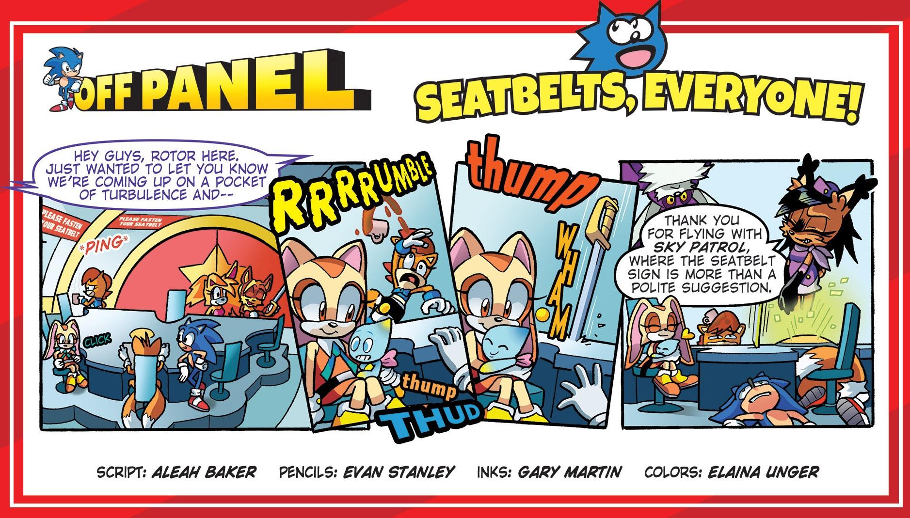 sth 294 off panel archie sonic comics know your meme