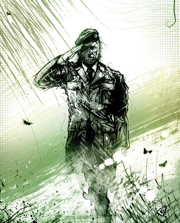 Boss Salute By Gavade Metal Gear Solid 3 Snake Eater
