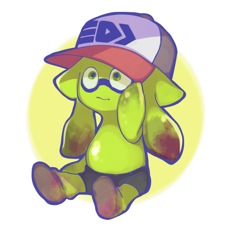 squid toddler splatoon know your meme