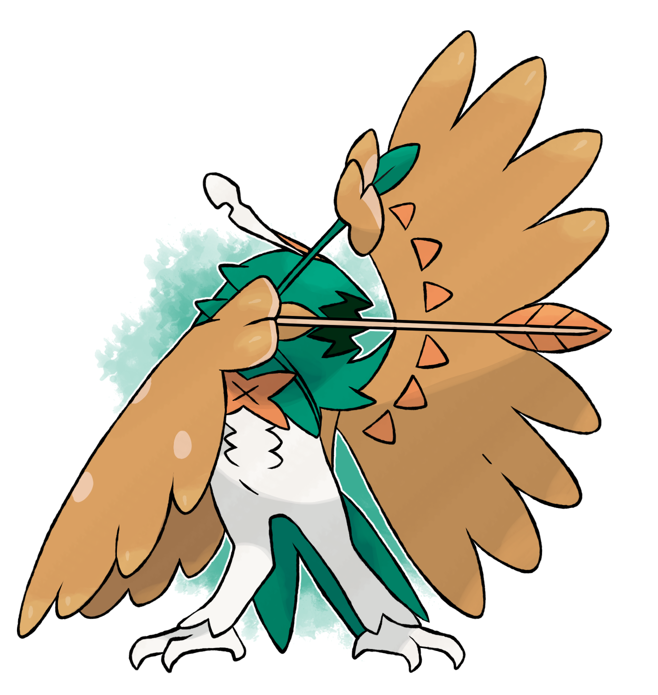 Rowlet Final Evolution By Devildman Pokémon Know Your Meme