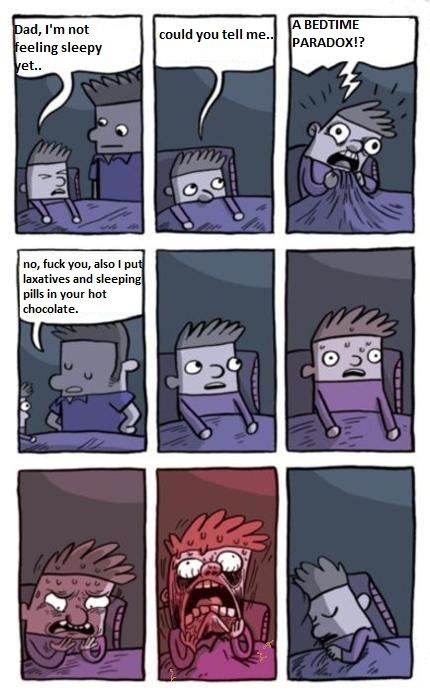 comic Fuck sleeping