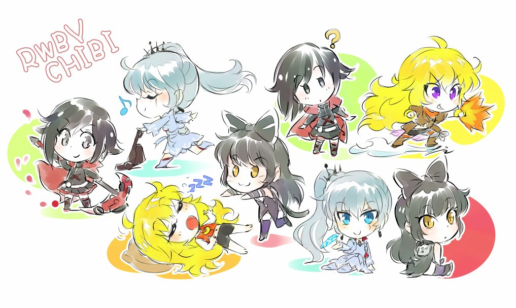 RWBY Chibi | RWBY | Know Your Meme