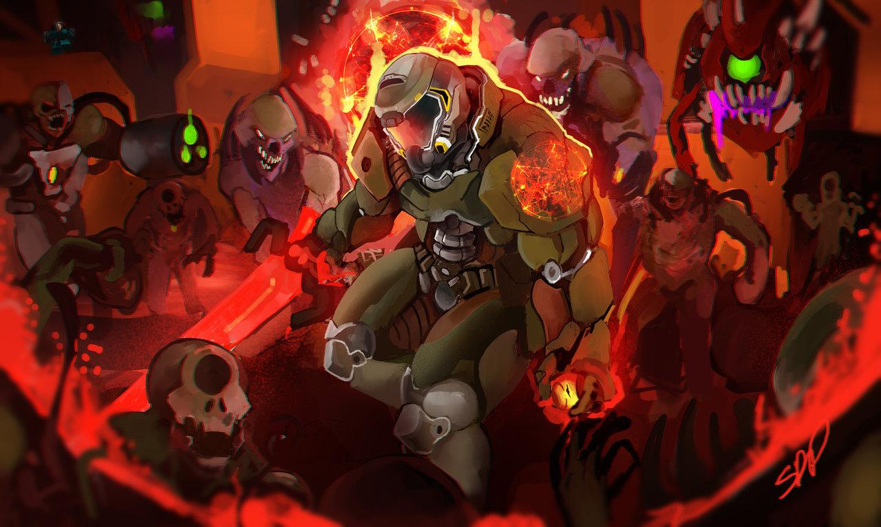 The Doom Slayer Doom Know Your Meme