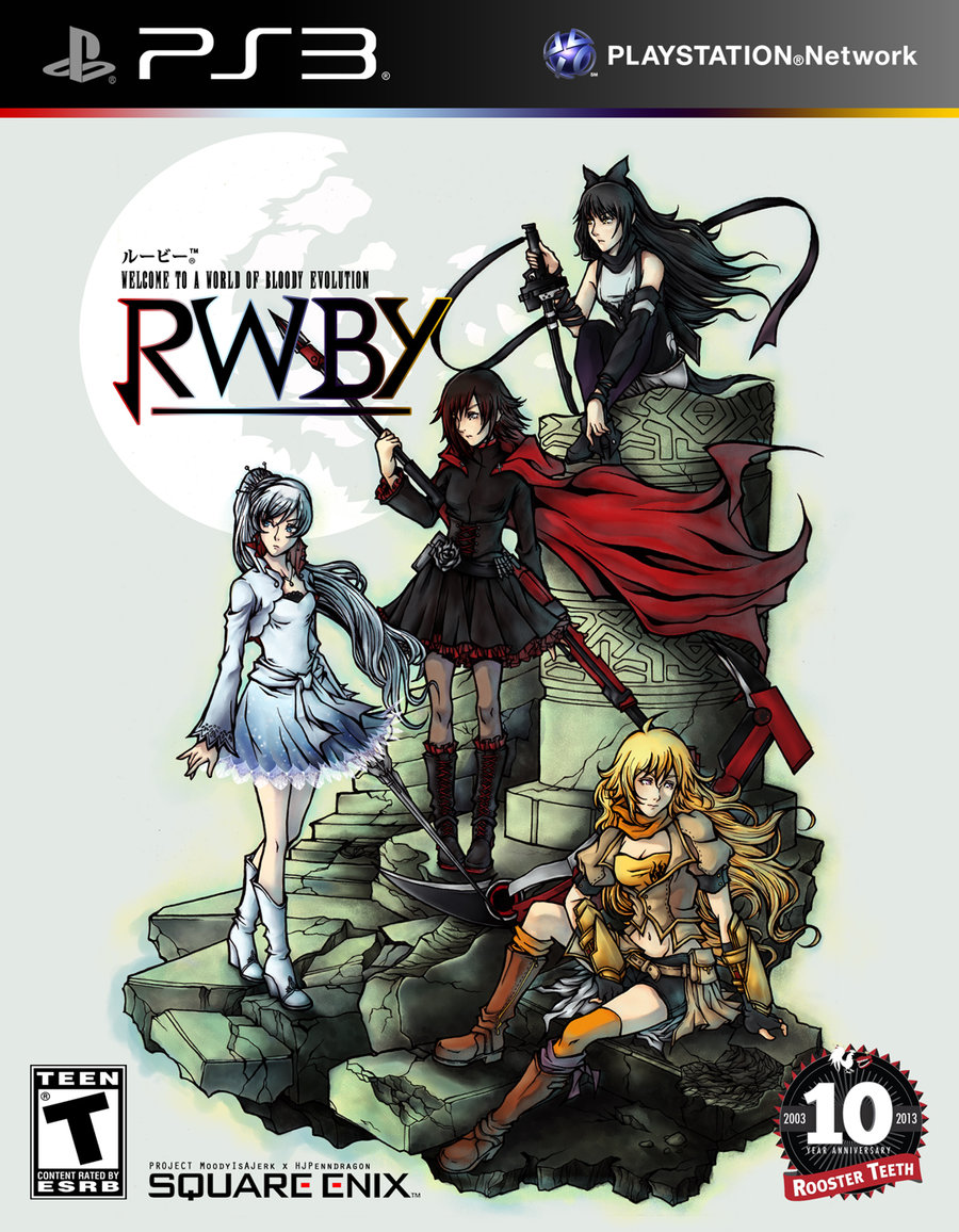 a rwby game made by the creators of kingdom hearts yes rwby