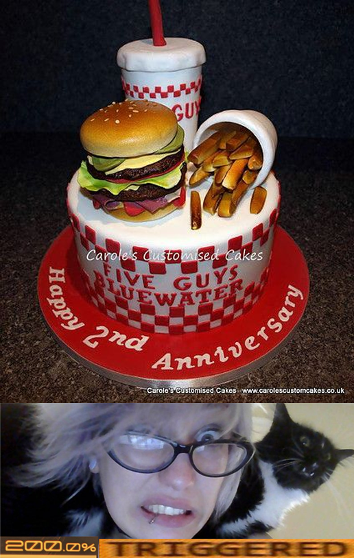 2nd Anniversary Cake Trigger Zoe Quinn Know Your Meme