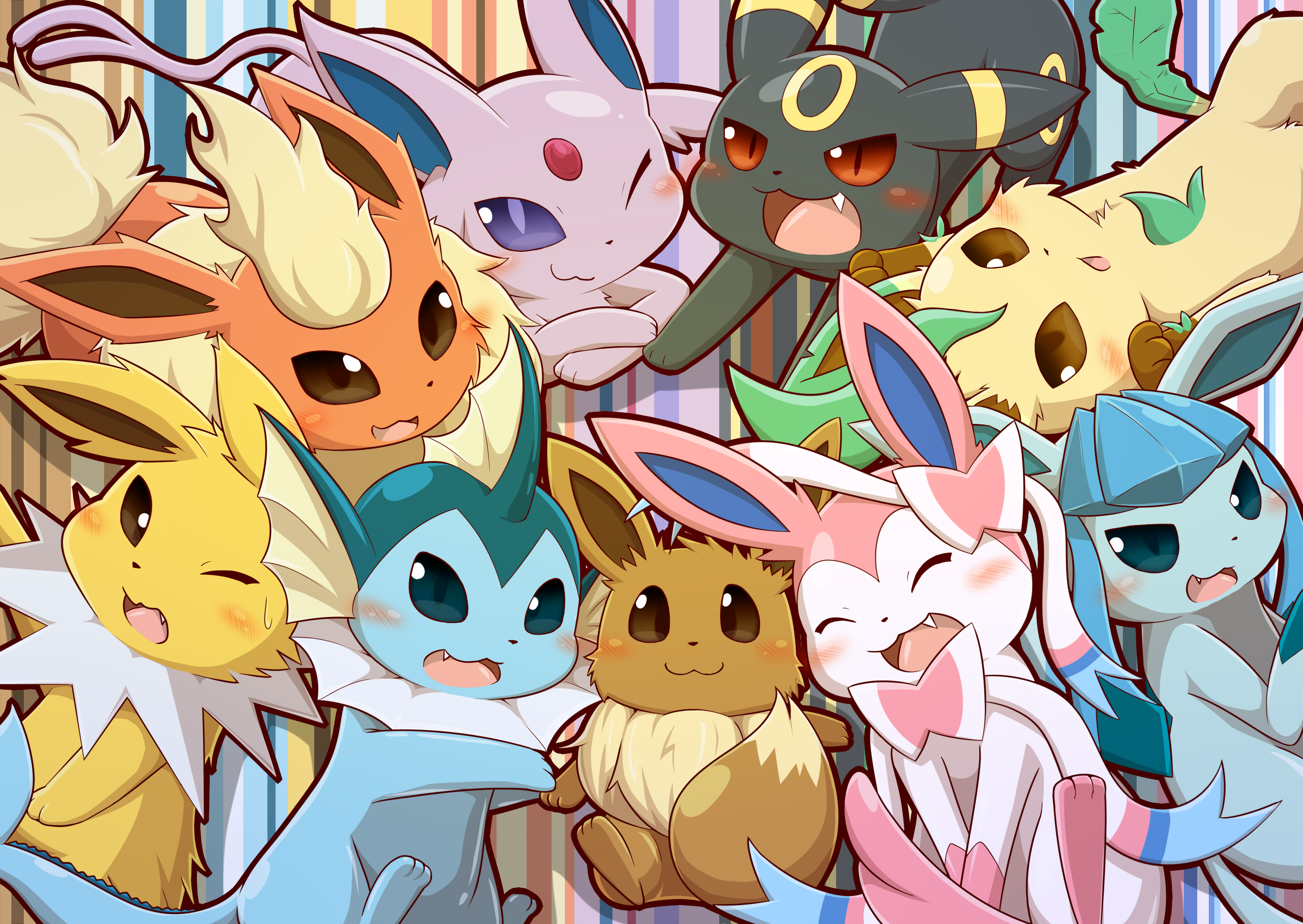 cute eevelutions eevee know your meme