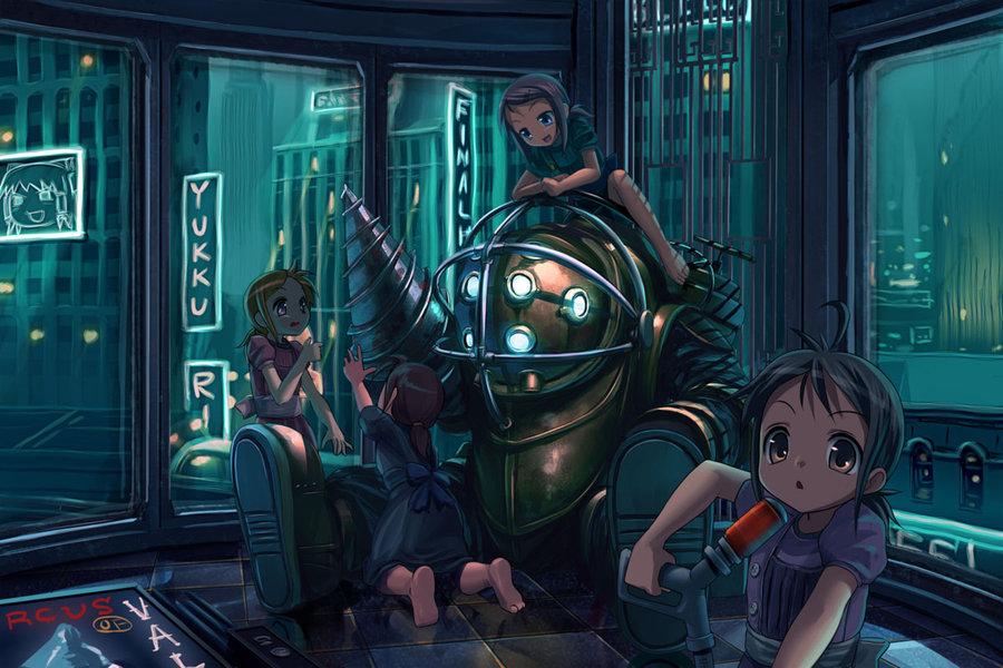 Bioshock infinite hentai video chan hentai