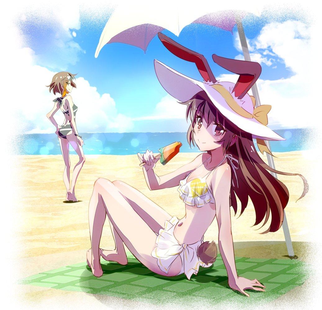 Bunbun at the Beach