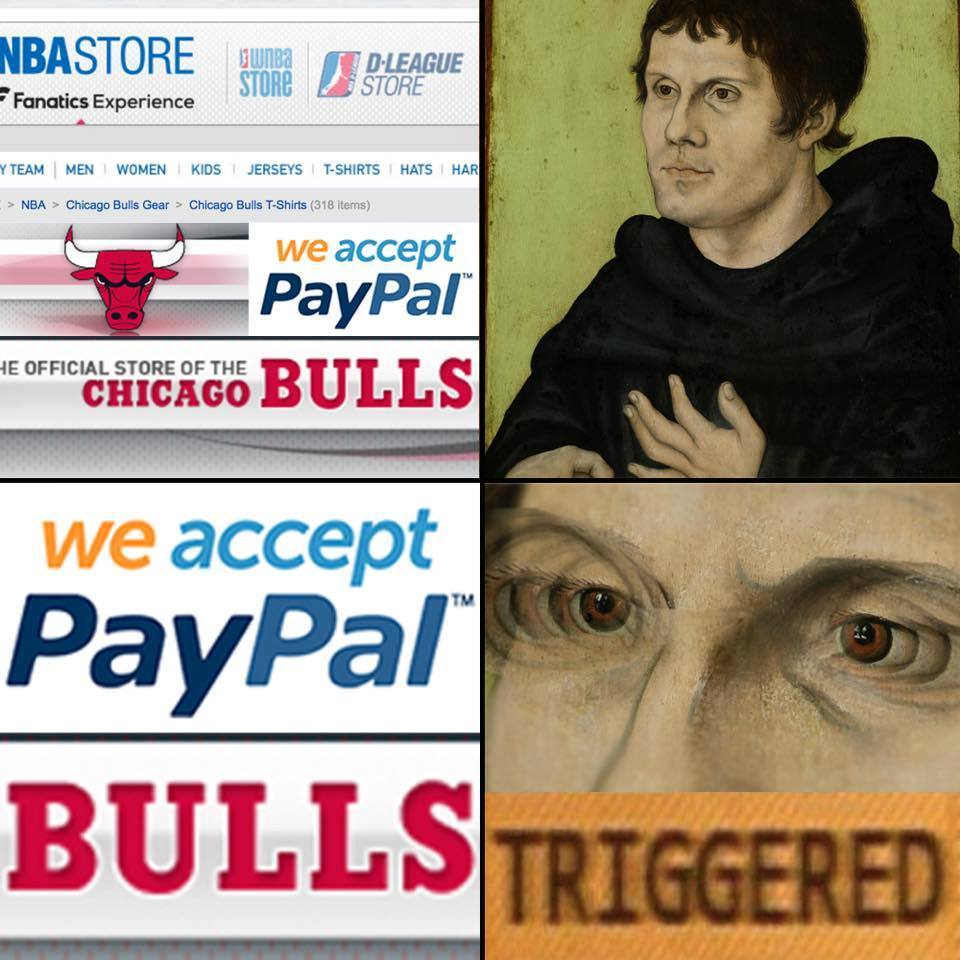9cc paypal bulls triggered comics know your meme