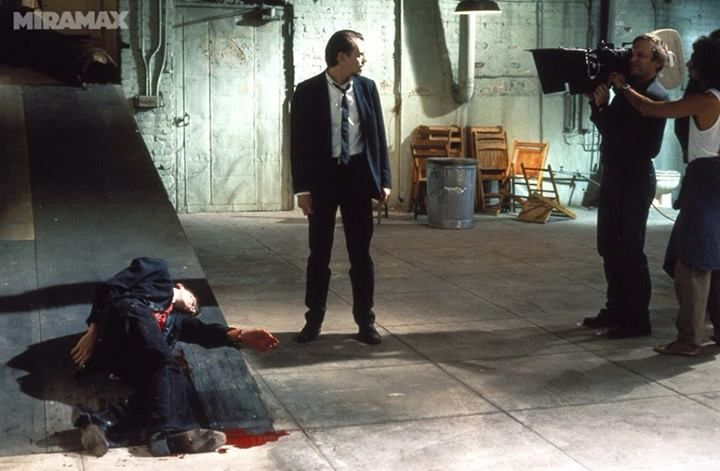 Image result for behind the scenes reservoir dogs