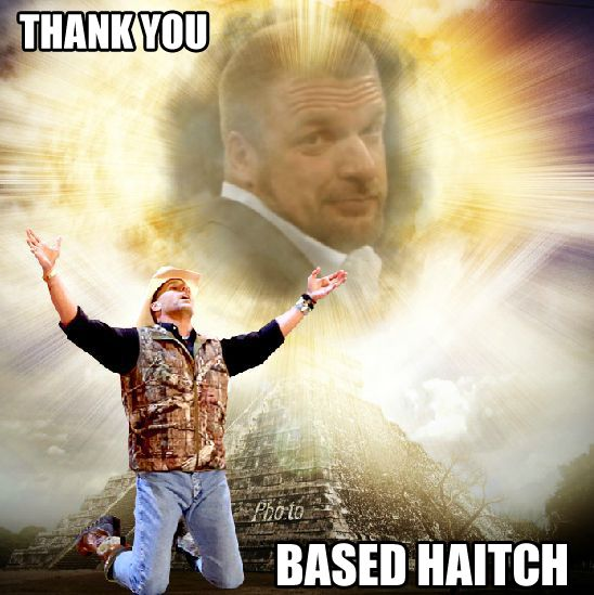 Image result for thank you based haitch