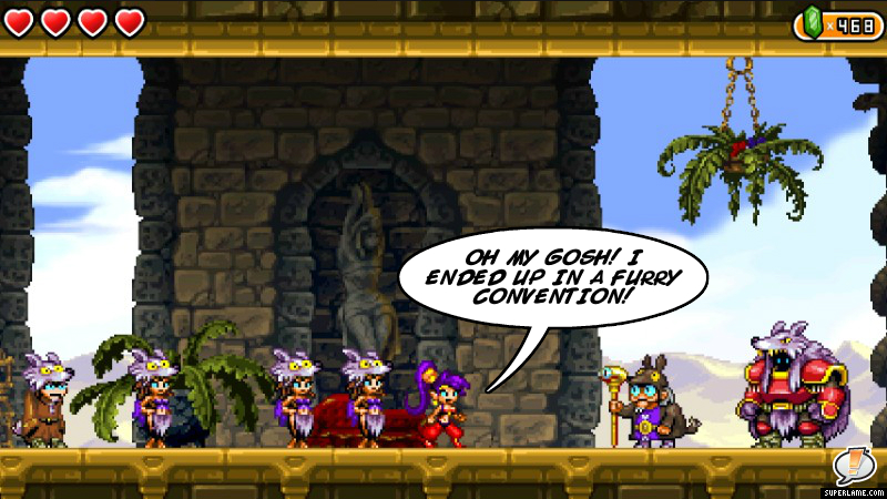 Shantae ended up in a furry convention | Furries | Know Your