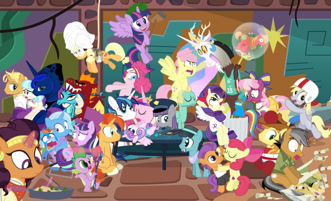 the story so far of season 6 s06 e18 my little pony friendship
