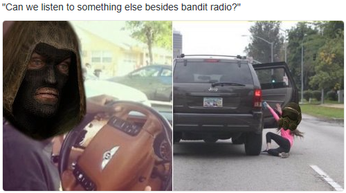Bandit Radio Stalker Know Your Meme