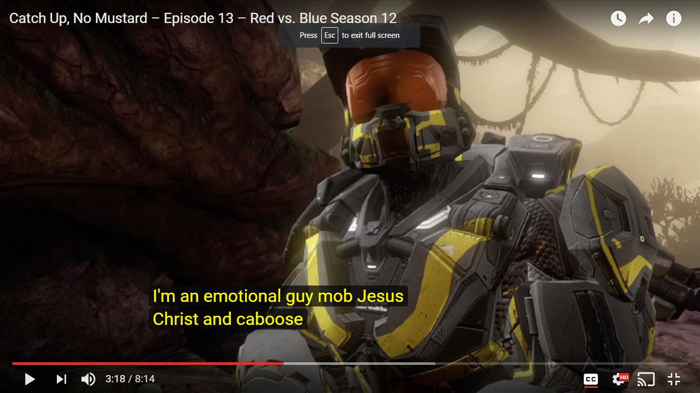 Emotional guy mob jesus christ   YouTube Automatic Caption