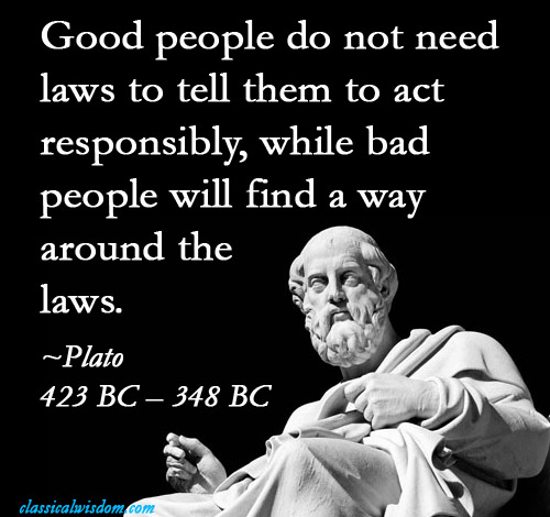 Laws of Good and Bad People   Image Quotes   Know Your Meme