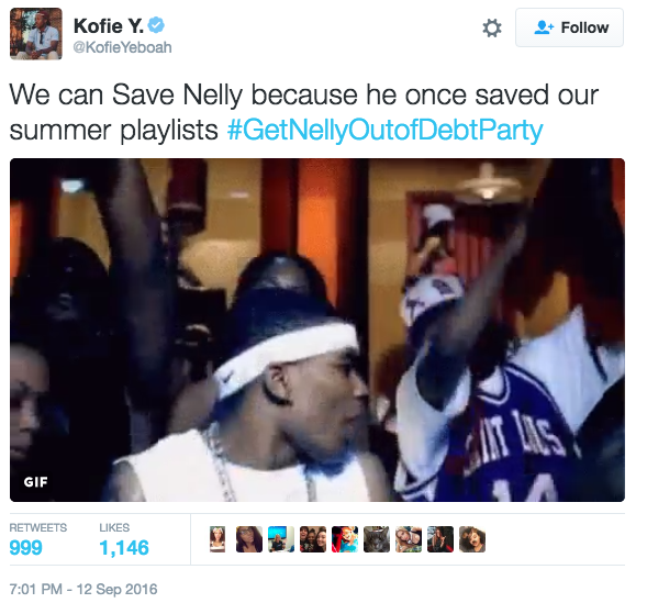 get nelly out of debt party savenelly know your meme